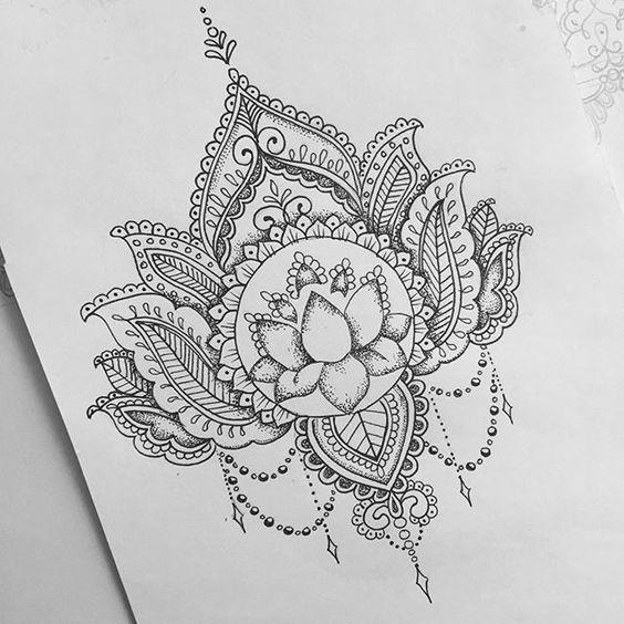 Tatuajes Flor De Loto Diseños Tatuajes