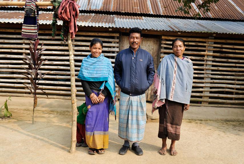 tribu garo familia