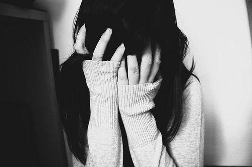 una depresión malos pensamientos