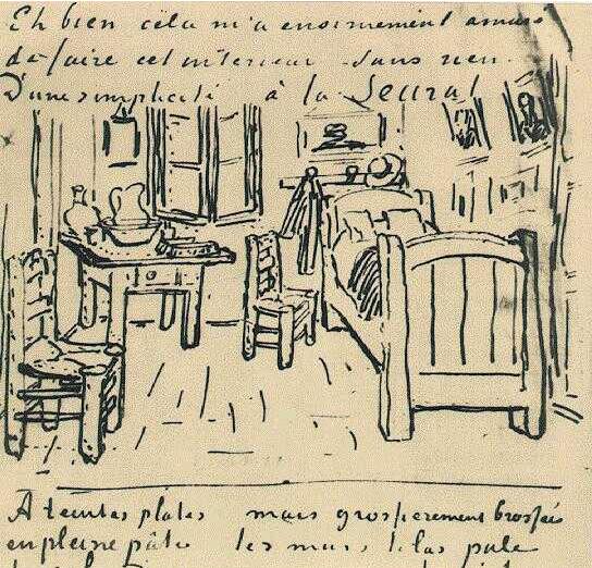 Las 5 versiones del cuarto de Van Gogh y la inspiración que viene de ...