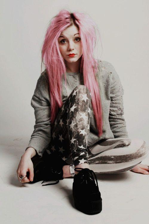 verdadero punk peinado