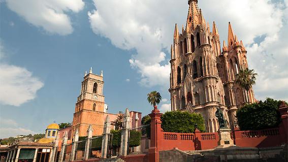 viajar de mochilero en México / San Miguel de Allende