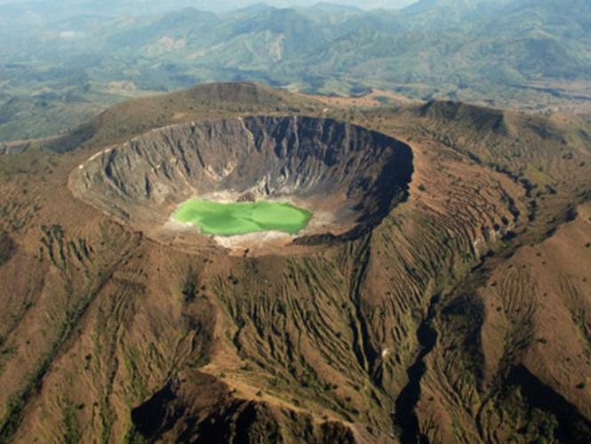 volcanes en México chichonal