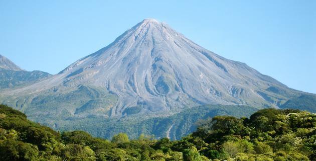 volcanes en México colima