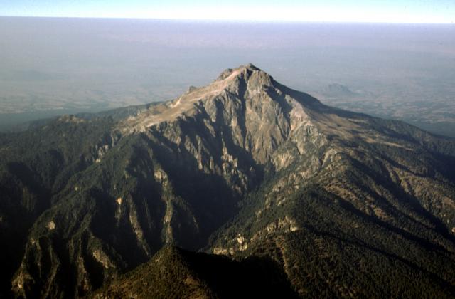 Volcanes en México malinche