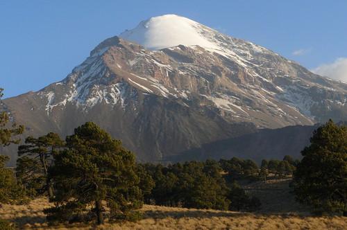 volcanes en México pico