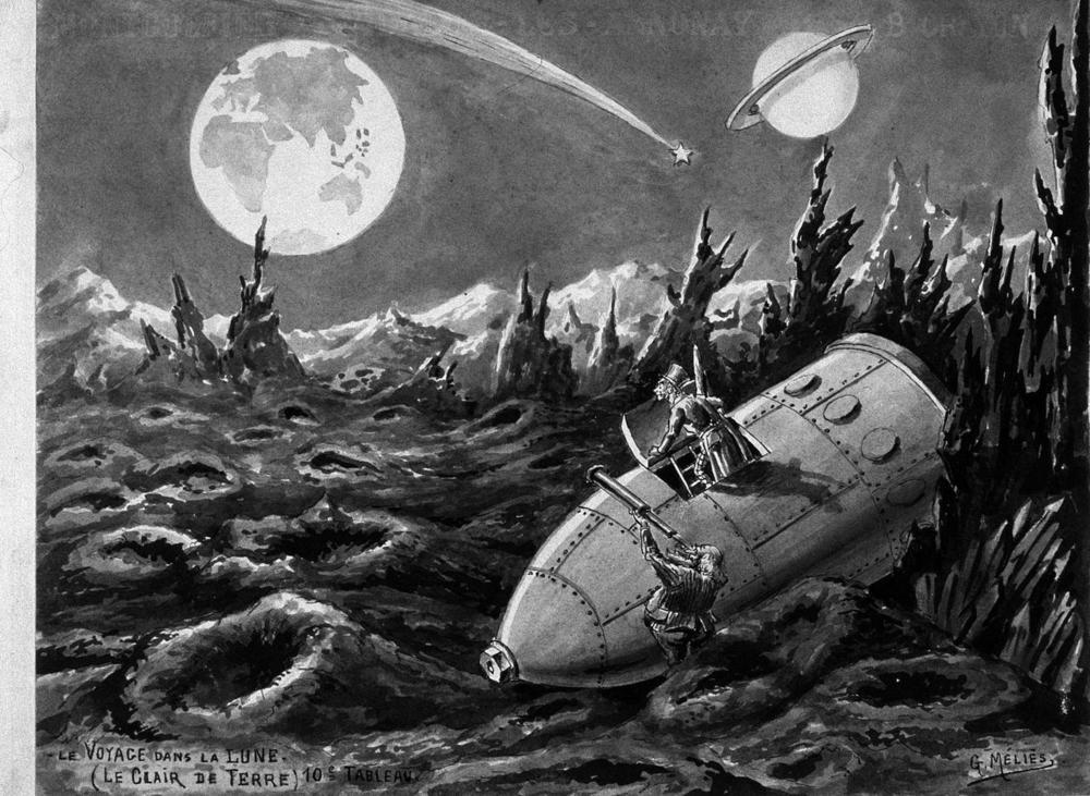 voyage to the moon carl sagan