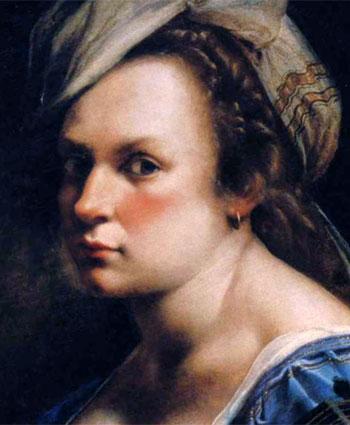 Artemisia gentileschi autorretrato