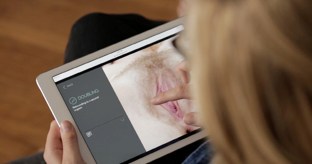 llegar al orgasmo touchscreen
