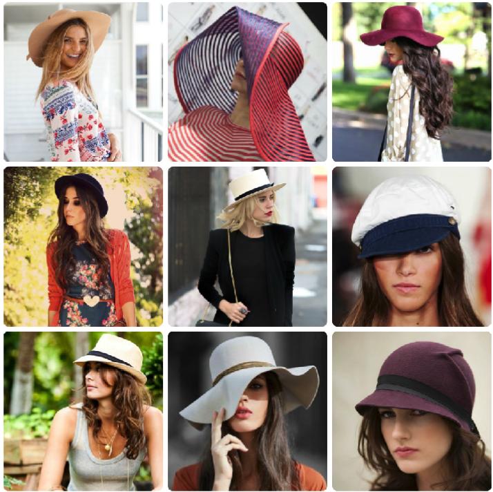 Guía para aprender a usar sombreros como una experta - Moda - Moda d45e83d326e