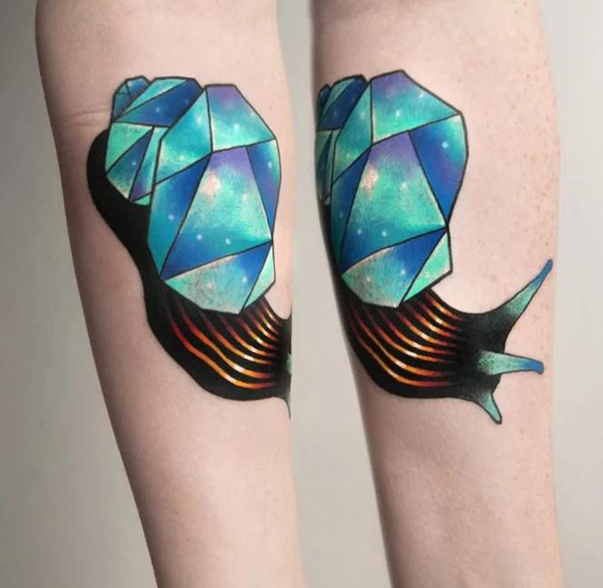 Caracol / tatuajes inspirados