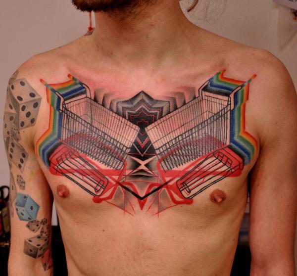 Escena psicodélica  / tatuajes inspirados