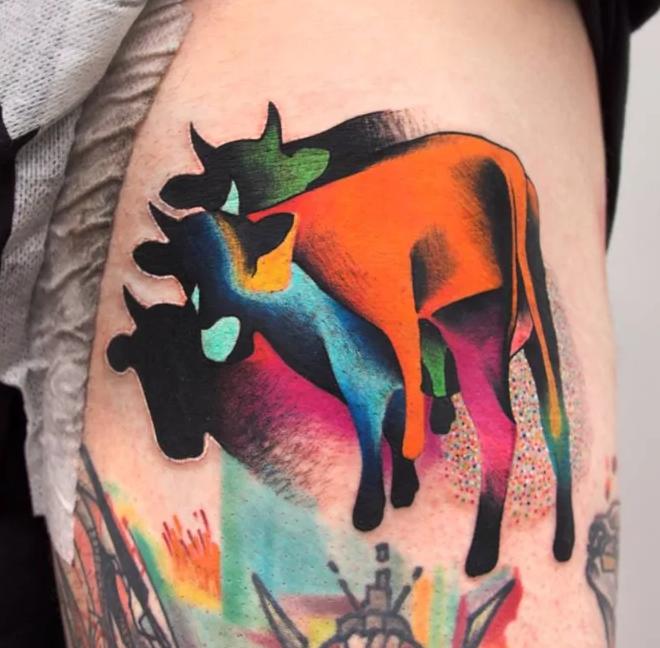 Cow Cosmic  / tatuajes inspirados