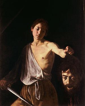 David con la cabeza de Goliat obras de arte
