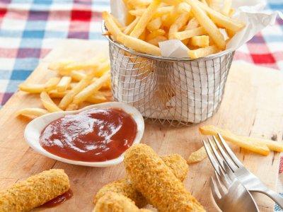 Dedos de queso  | cenas nutritivas