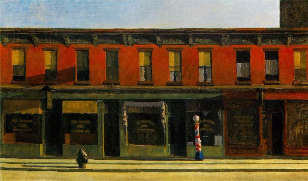 Edward Hopper early sunday