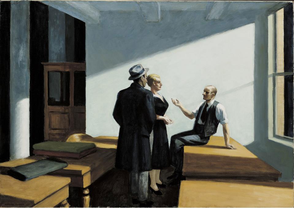 Edward Hopper noche