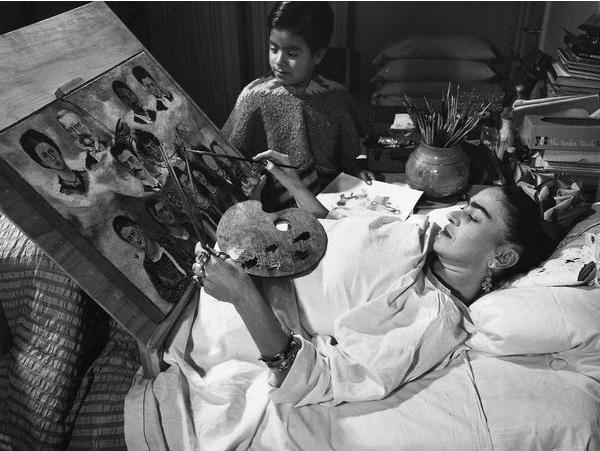 Fans de Frida Kahlo cama