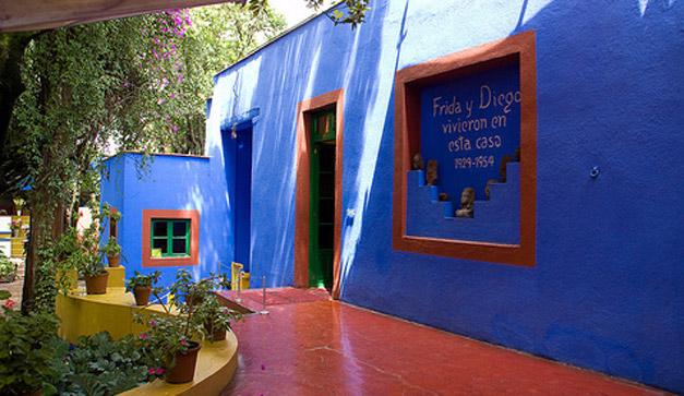Fans de Frida Kahlo casa azul