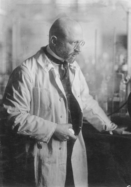 Fritz Haber laboratorio