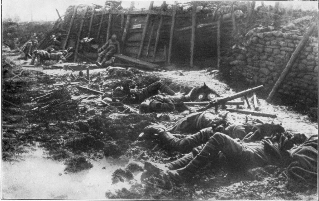 Fritz Haber ypres cuerpos