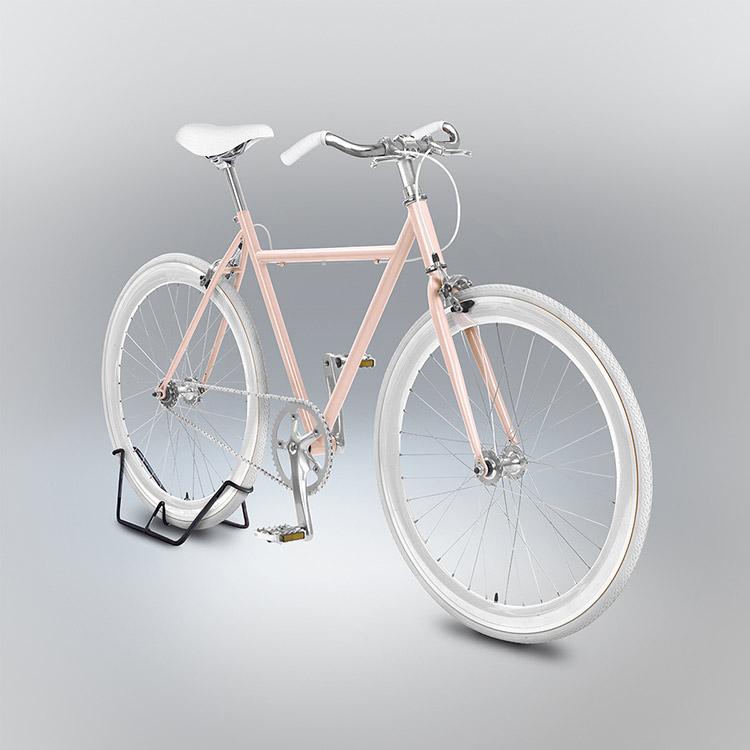 Bici rosa  / velocipedia