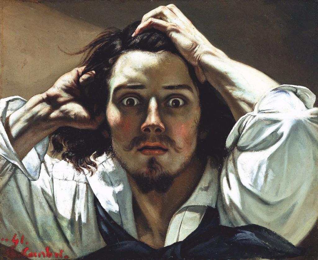 Gustave Courbet retrato