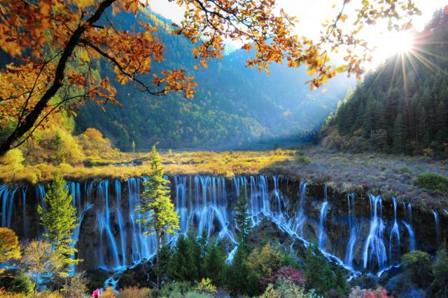 Jiuzhaigou / viajar a china
