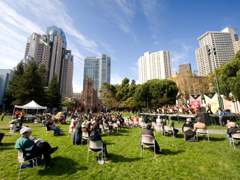 San Francisco Yerba Buena Gardens