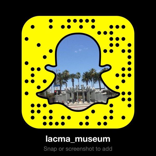 Snapchat lacma code