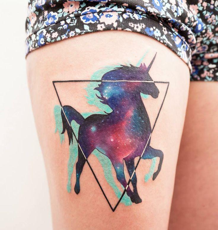 Unicornio / tatuajes inspirados