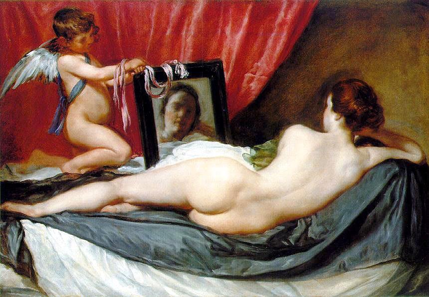 afrodita venus del espejo