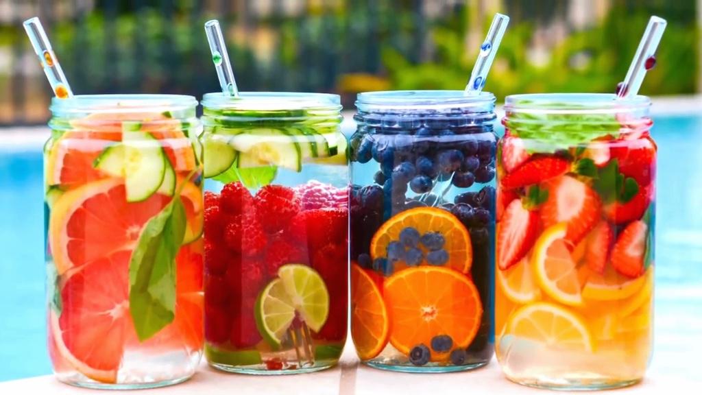 agua citricos