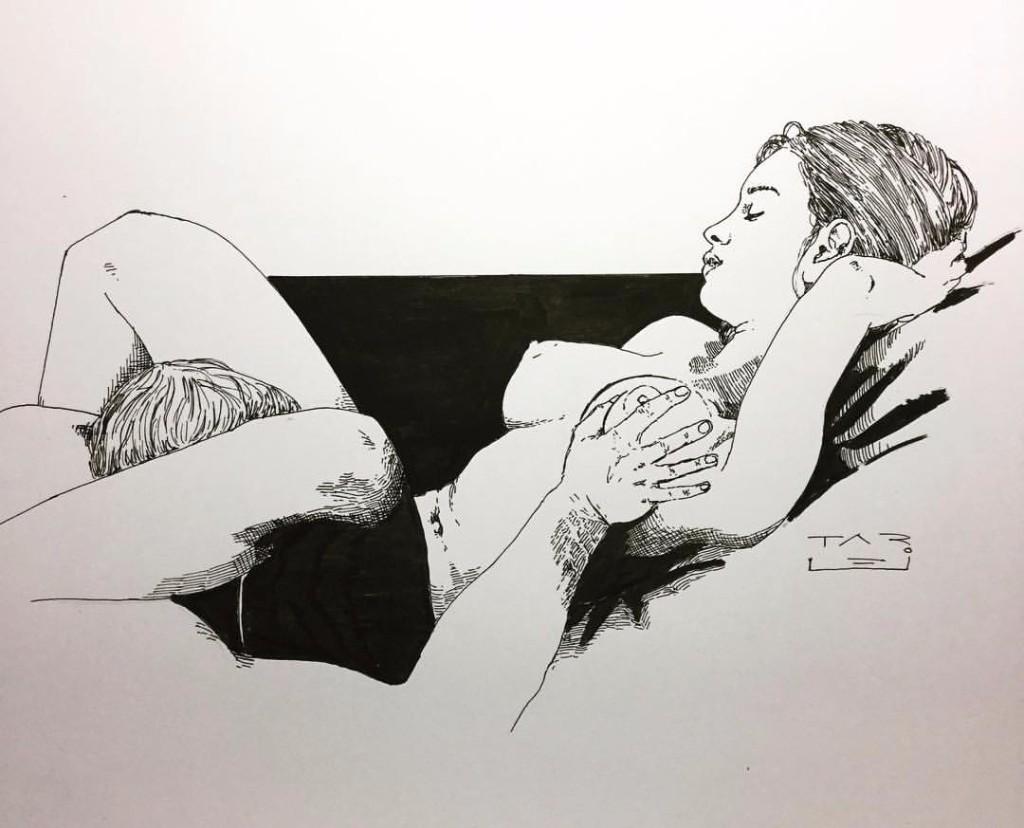 amor nudegrafia