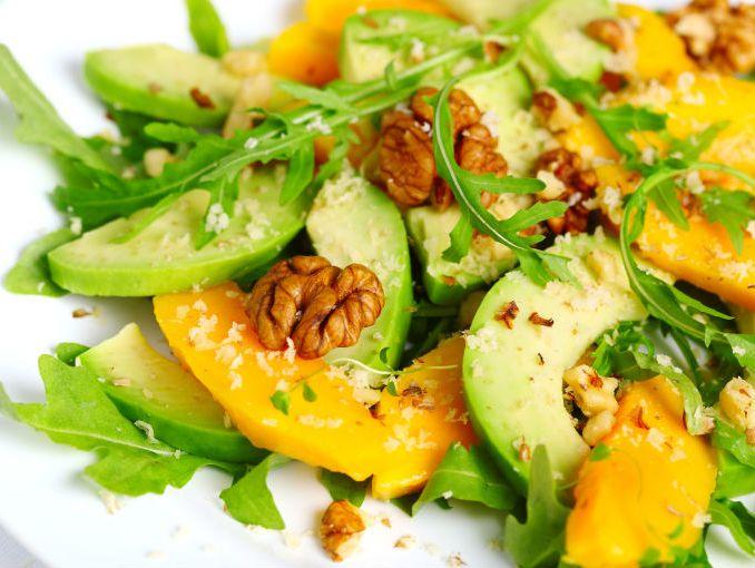 aprender a cocinar ensalada mango