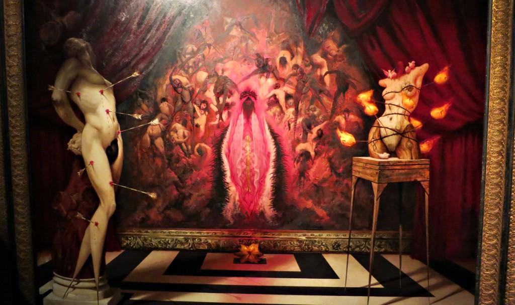 arte erotico michael hussar vagina