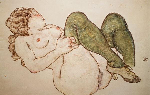 arte erotico schiele