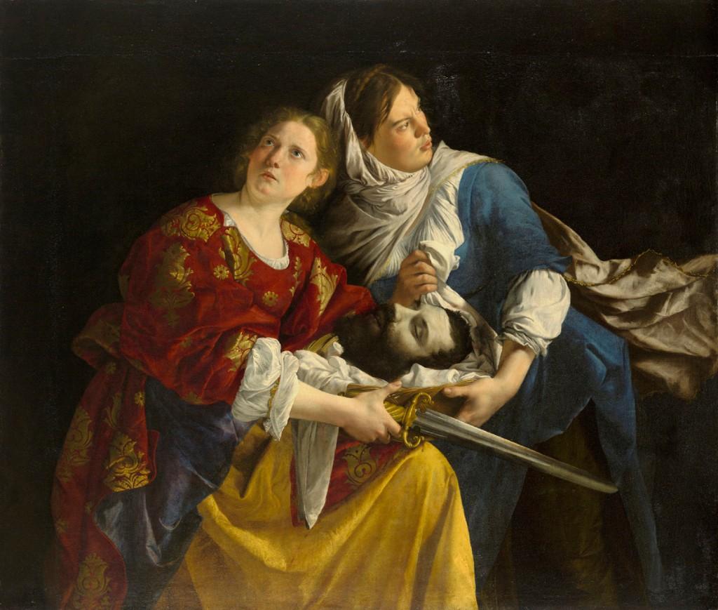 Giuditta e la sua serva con la testa di Oloferne, 1610-1612 circa