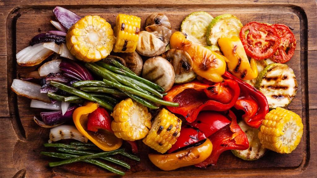 carne asada vegetales