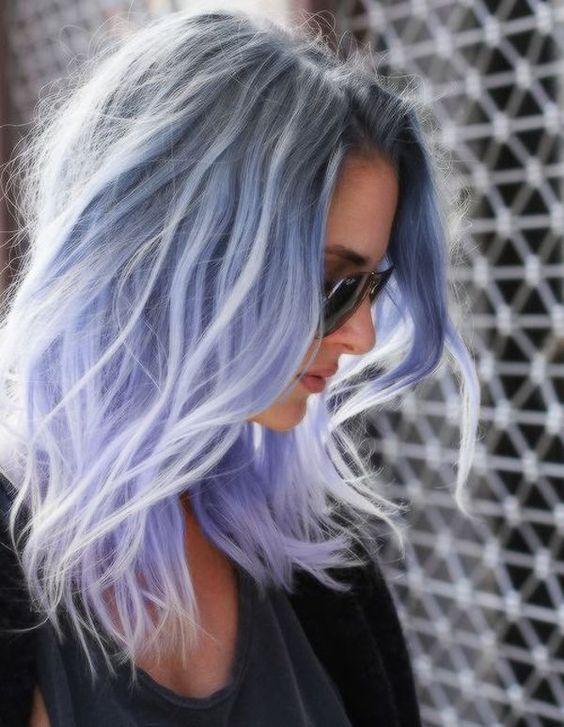 color de cabello violeta