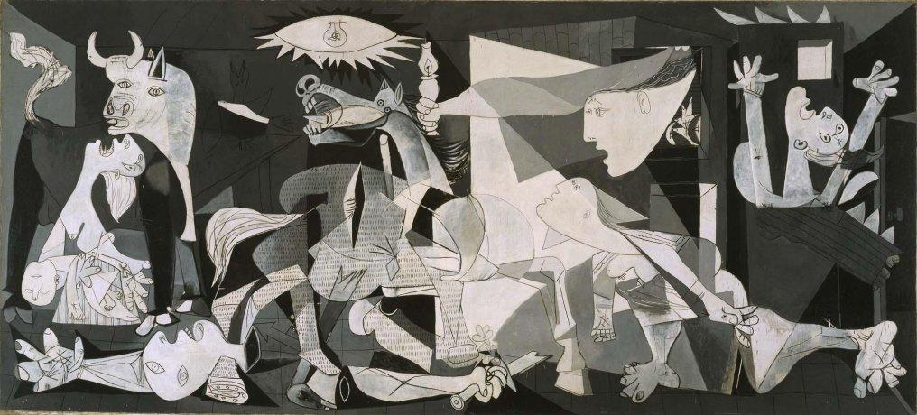 cuadros de picasso Guernica