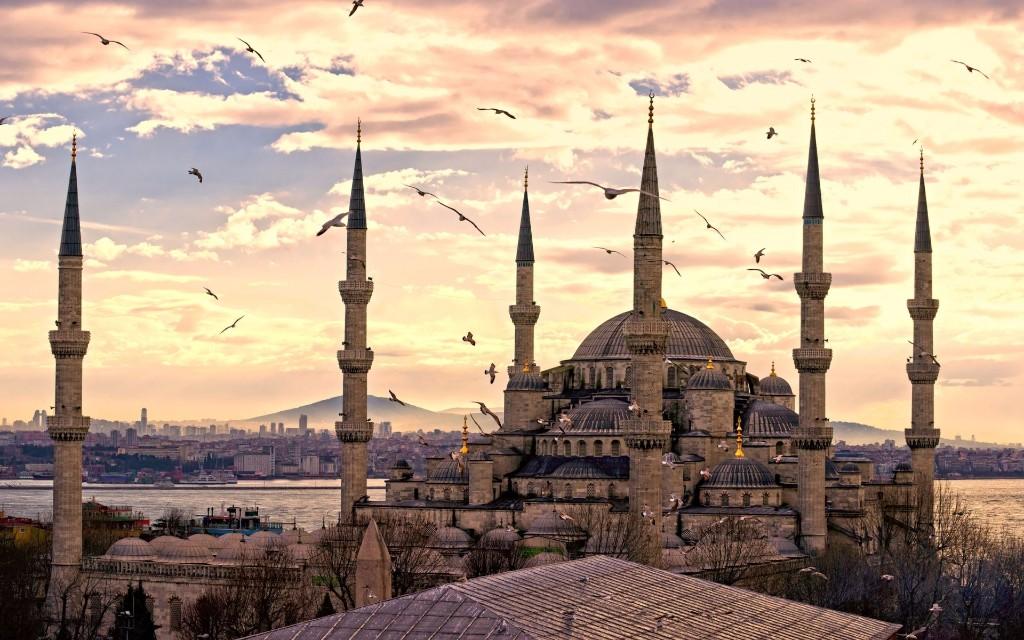 destinos europeos mezquita azul
