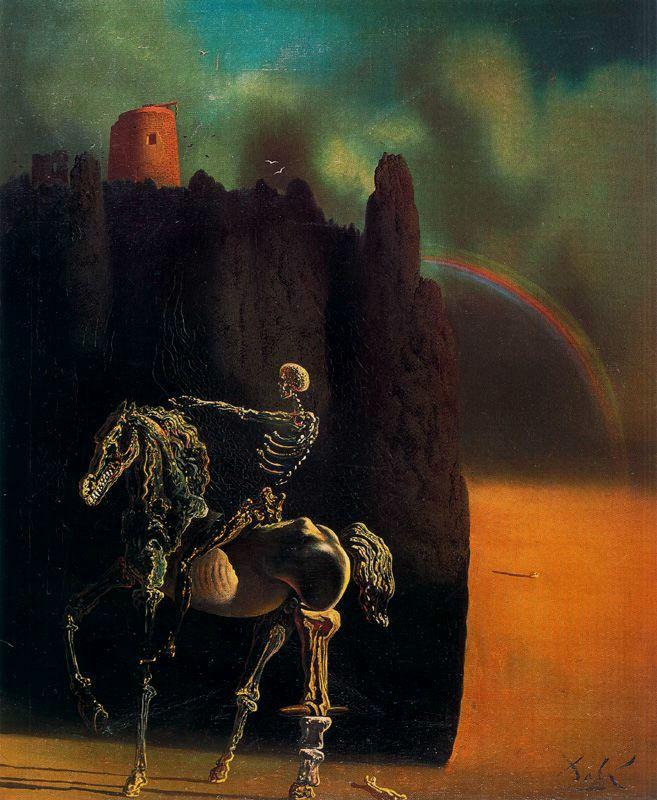 diarios de Salvador Dali caballero de la muerte grande