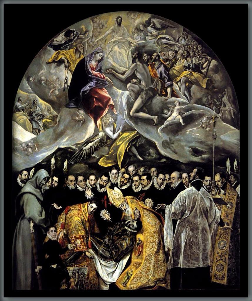 el entierro del conde de orgaz obras de arte