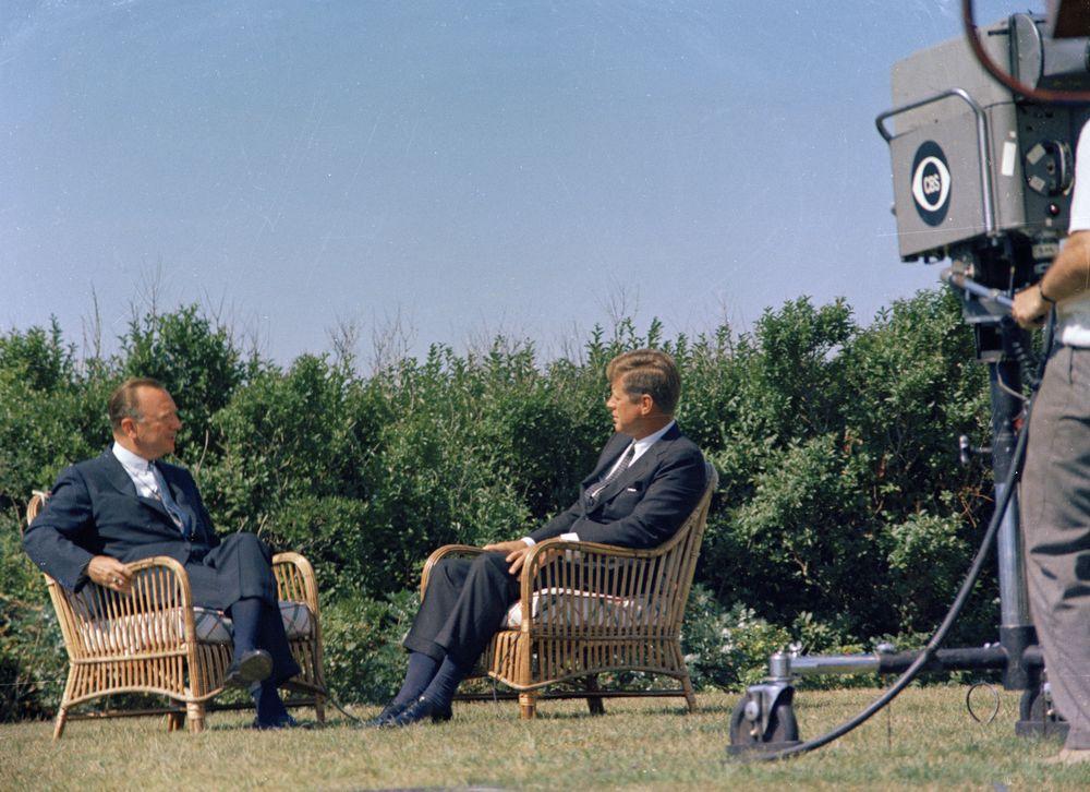 entrevista JFK