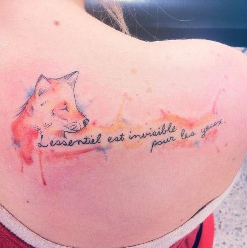 Frases del principito - Tatuajes