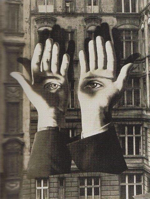 heidegger manos con ojos