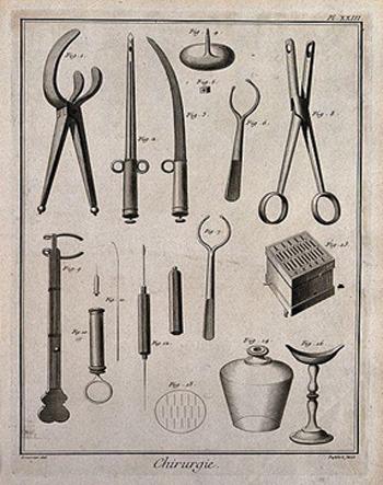 herramientas medicina antigua