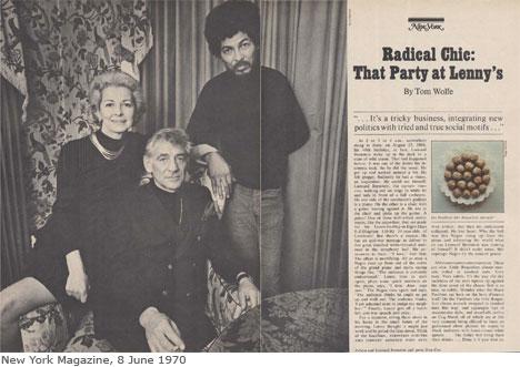 libros de los años 60 radical chic