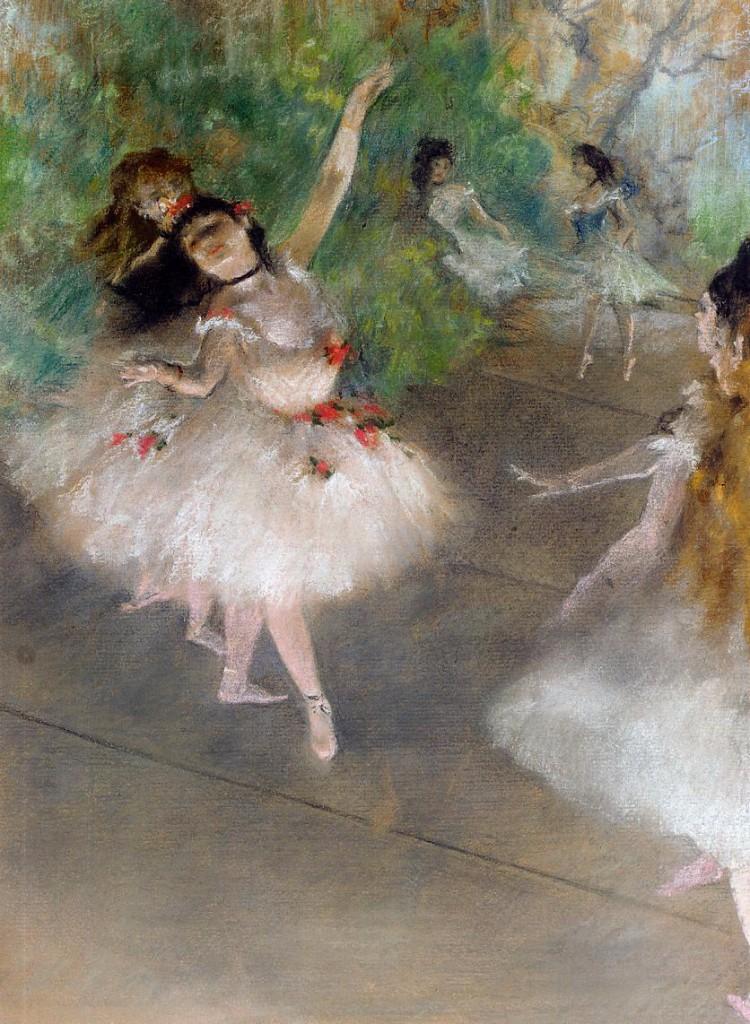 los poetas malditos - degas bailarina